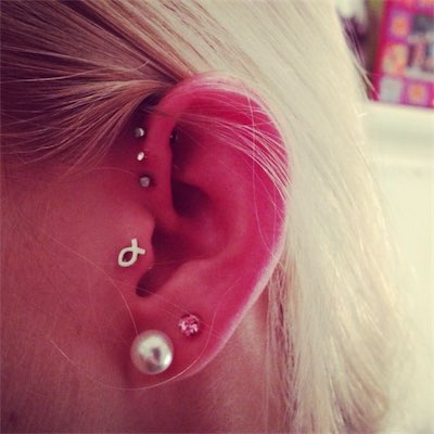 Cartilage Fish Piercing