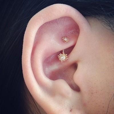 Rook Ear Piercing
