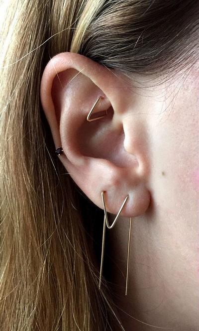 Rook Piercing Jewelry Size