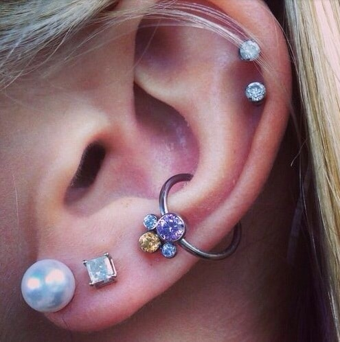 Cool Conch Piercing