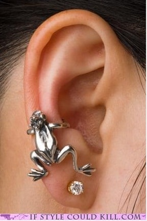 Frog Conch Piercing