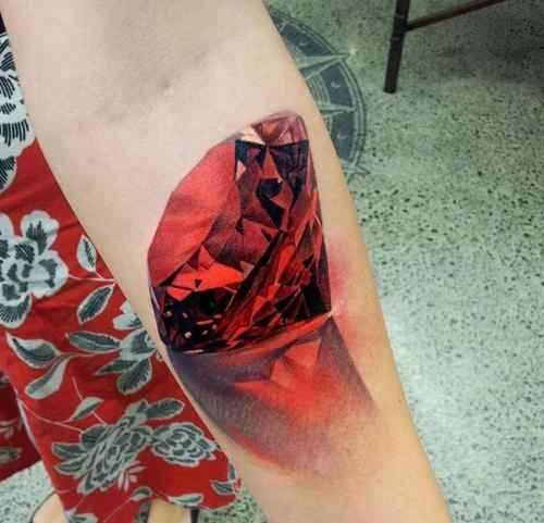 3d-red-diamond-tattoo