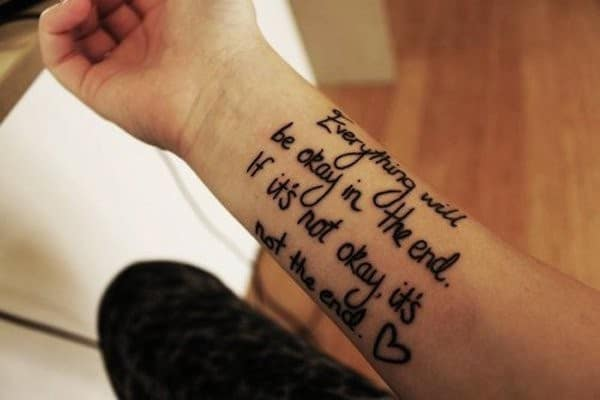 Cool meaningful tattoos
