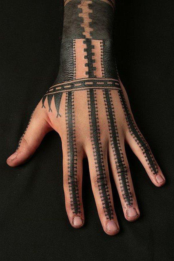 Samoan hand tatau