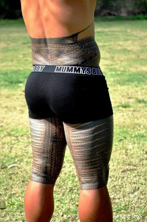 Traditional Samoan Tattoo