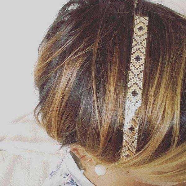 bandeau hair tattoo