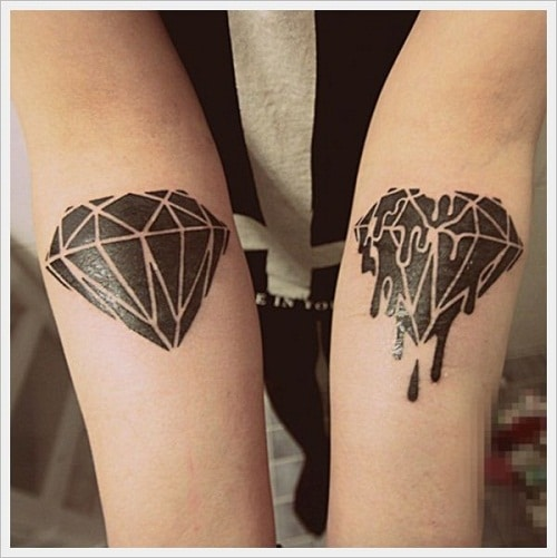 black-blood-arm-diamond-tattoo