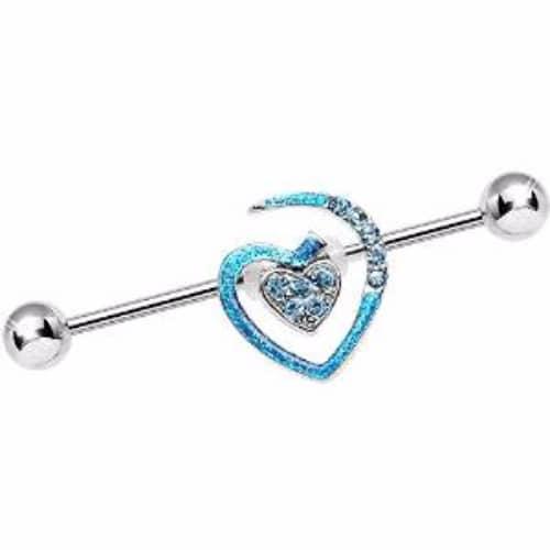 Industrial Piercing Jewel Inspiration