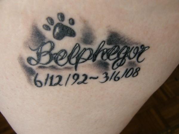 paw print rip tattoo