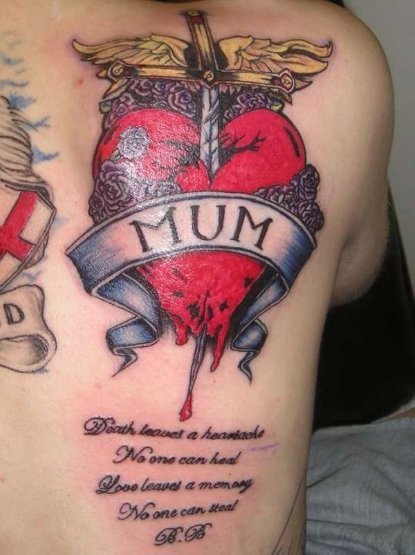 rip tattoos mum