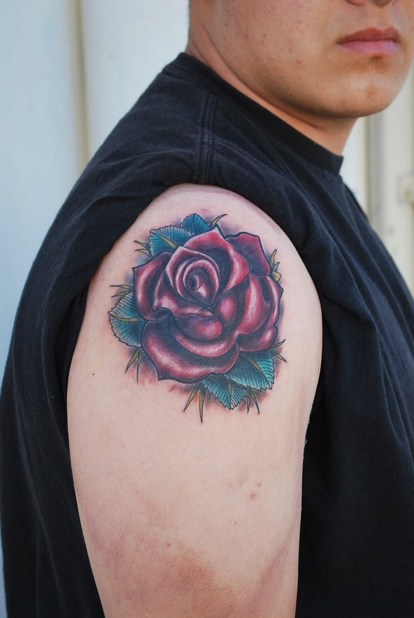 Rose Tattoo For Men