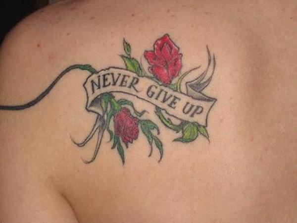 Rose Tattoo For Women