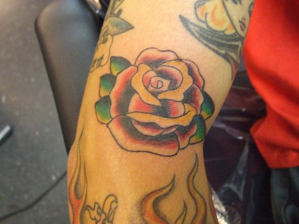 Rose Tattoos On Forearm