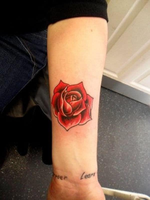 Rose Tattoos On Hand