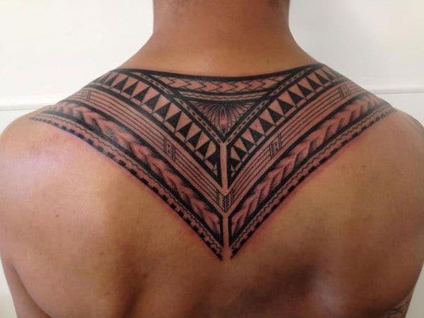 samoa neck tattoo