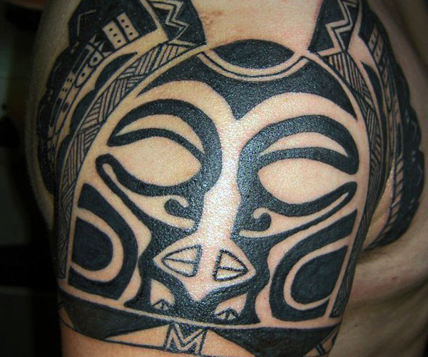 samoan tattoo shoulder