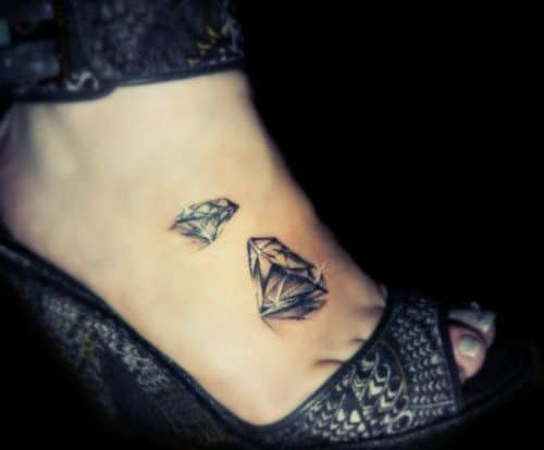 small-and-medium-black-diamond-tattoo