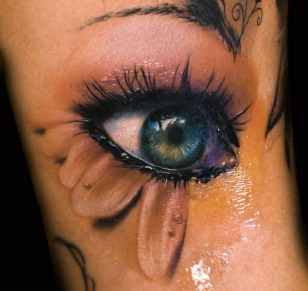 3D Tattoos Eyes