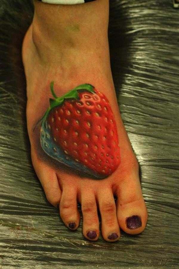 3D Tattoos On Foot