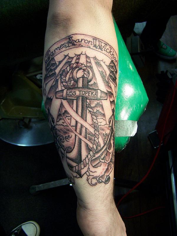 Amazing Anchor Tattoos