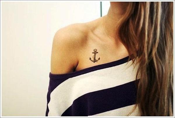 Anchor Tattoos Small