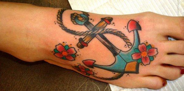 Beautiful Anchor Tattoos