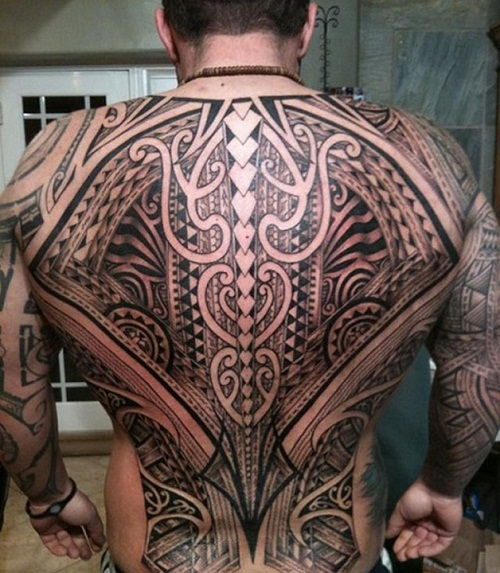 Big Tribal Tattoos Inspiration
