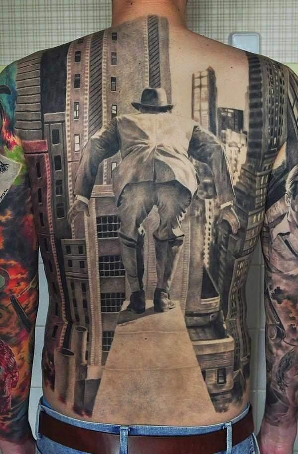 Fabulous 3D Tattoos