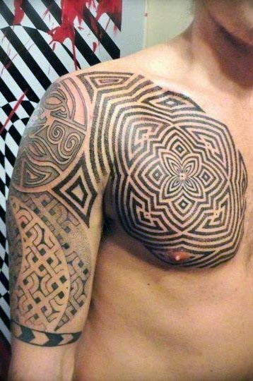26 hot and sexy tribal tattoos on arm and shoulder