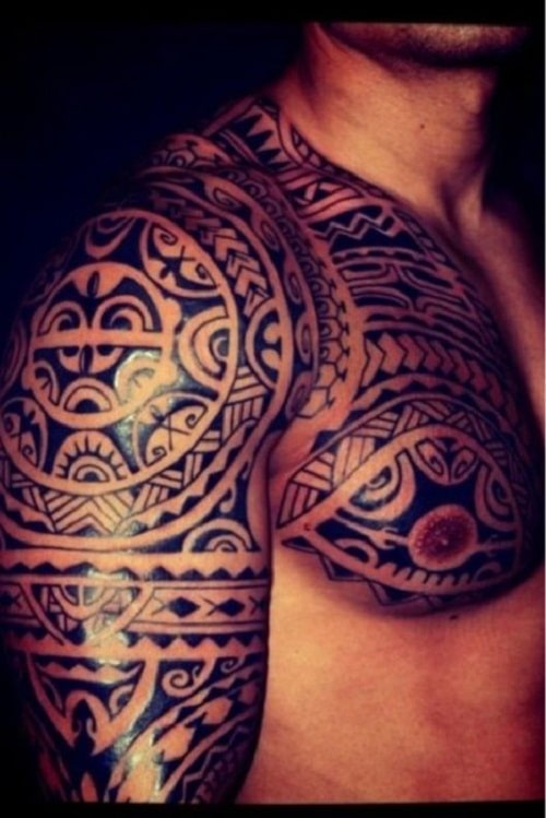 110 Best Tribal Tattoos for Women and Men - Piercings Models
