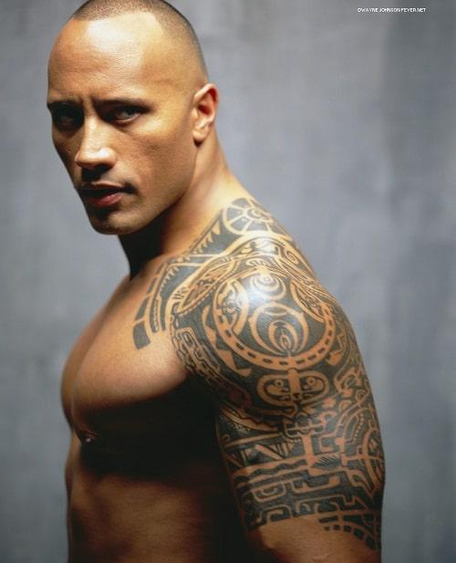 The Rock Arm Tribal Tattoos