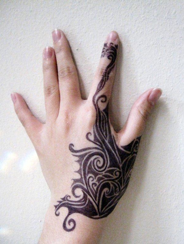 Tribal Inspired Tattoo