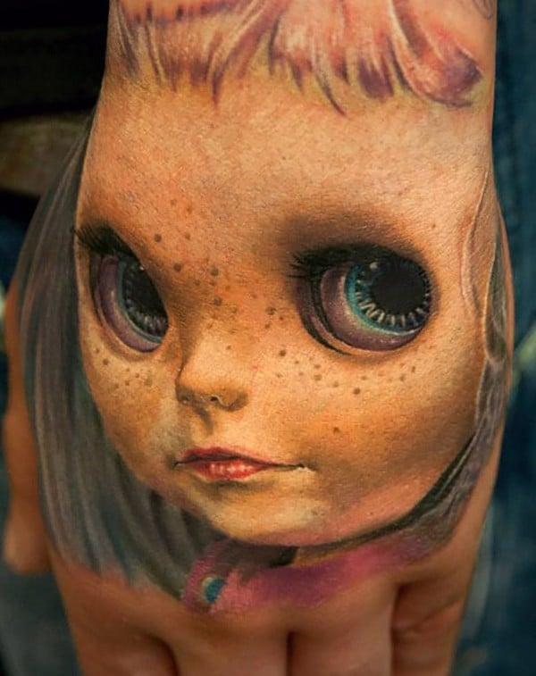 Weird 3D Tattoo