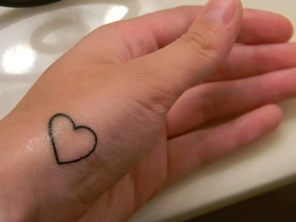 Alluring Heart Tattoo