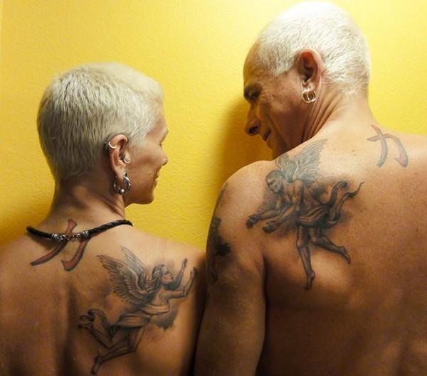 Angel Matching Tattoo