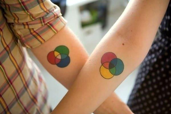 Best Friend Matching Tattoos Ideas