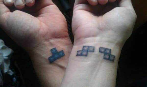 Cool Matching Tattoo