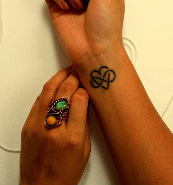 Cute Small Heart Tattoos