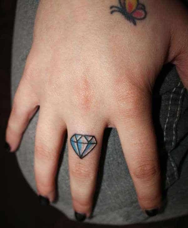 Diamond Small Tattoo
