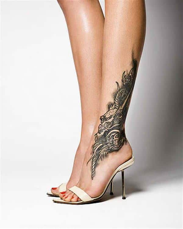 Dragon Tattoo Women