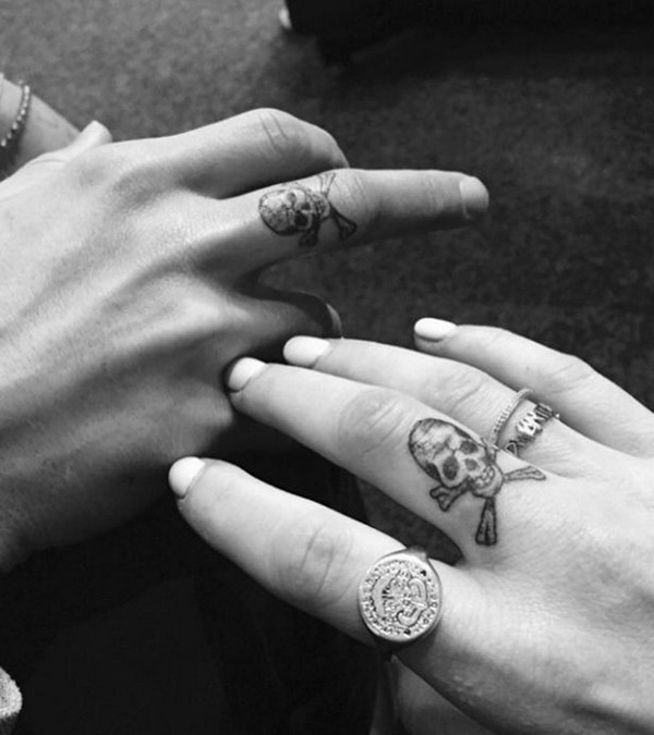 Ellie Goulding And Dougie Poynter Tattoo