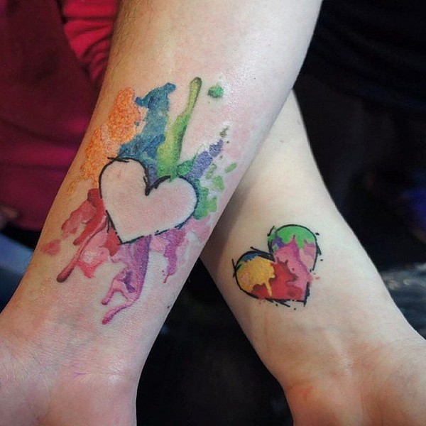 Heart Puzzle Tattoo