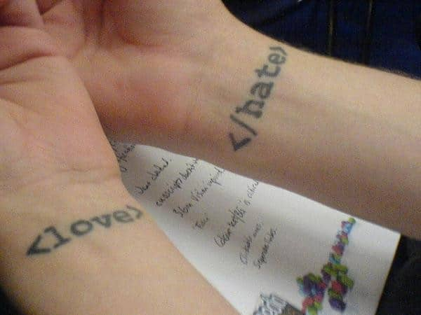 Html Code Small Tattoos