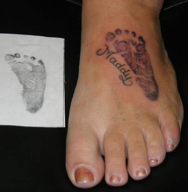Meaningful Foot Small Tattoos
