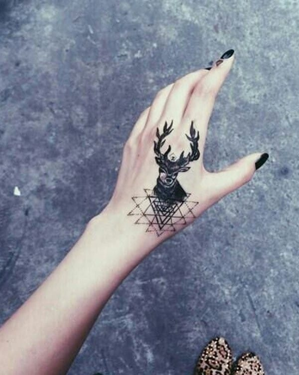 Pictures Of Small Hand Tattoos