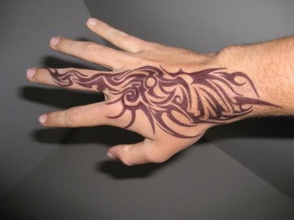 Popular Hand Tattoos