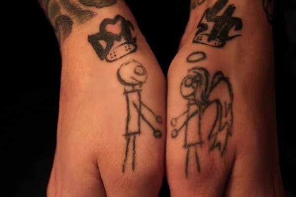 Small Hand Tattoo