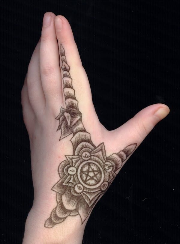 Small Hand Tattoos For Women