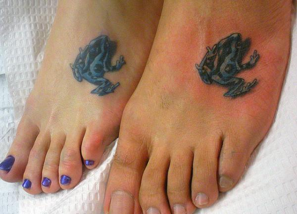Small Matching Tattoos For Couples
