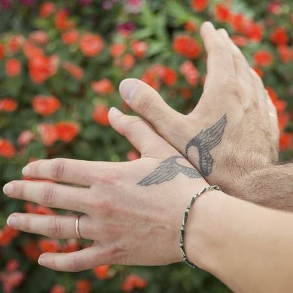 Wings Matching Tattoos
